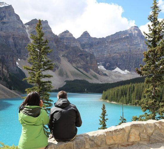Banff natural park tourism