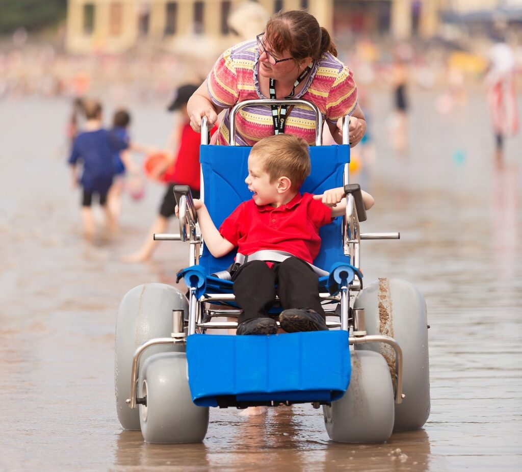Barry Island Beach Wheelchairs